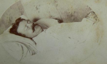 Memento mori – man in white, 1885
