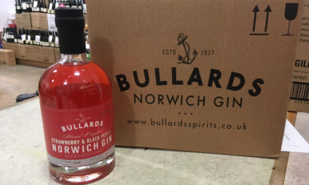 Bullards Strawberry & Black Pepper Norwich Gin
